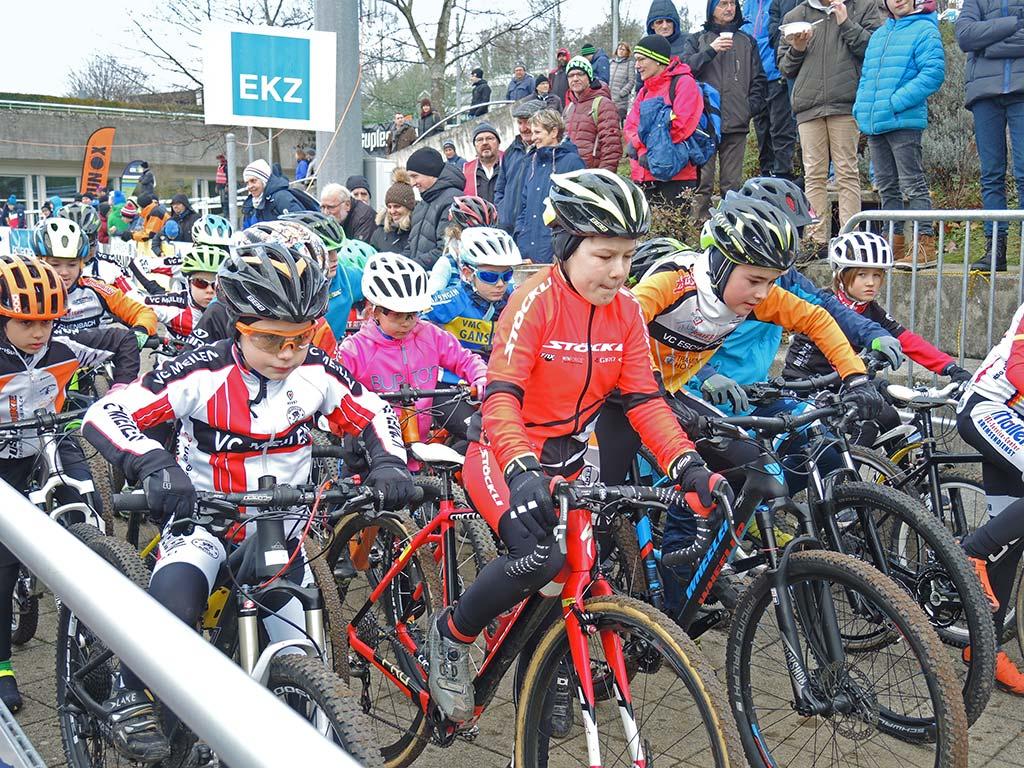 Kidscross Start, EKZ CrossTour Meilen 2.1.2019