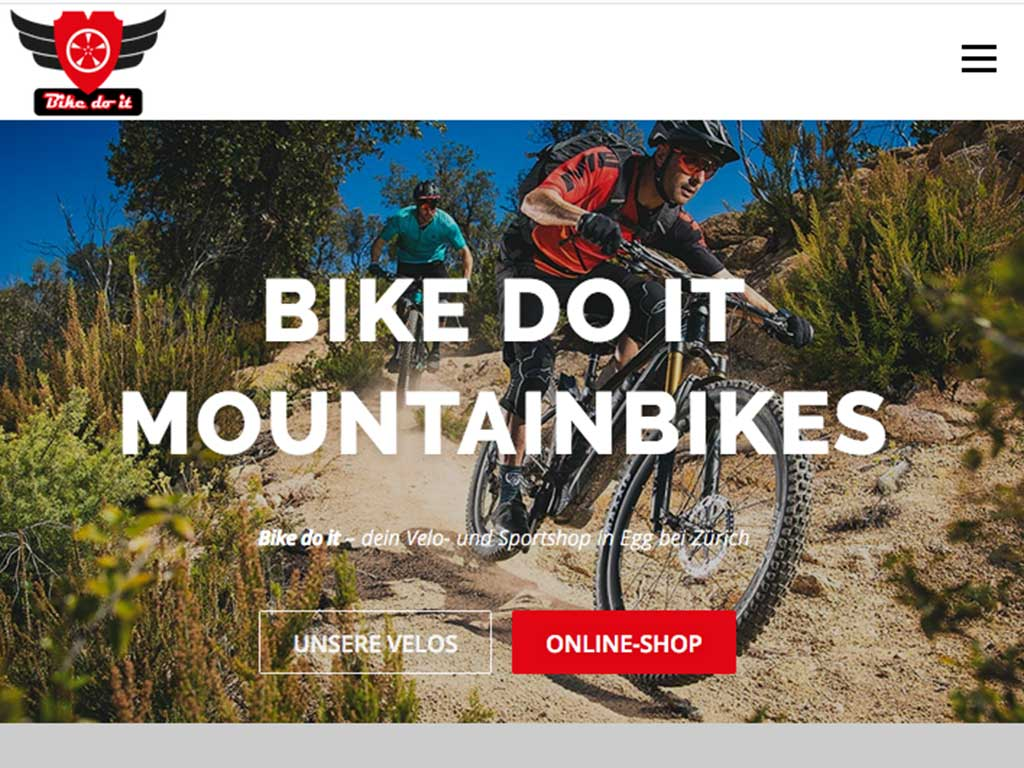 Bike do it Website Egg 2020