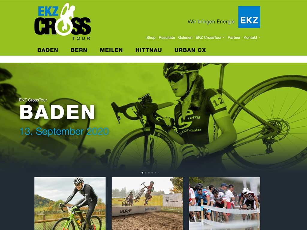 EKZ CrossTour Website