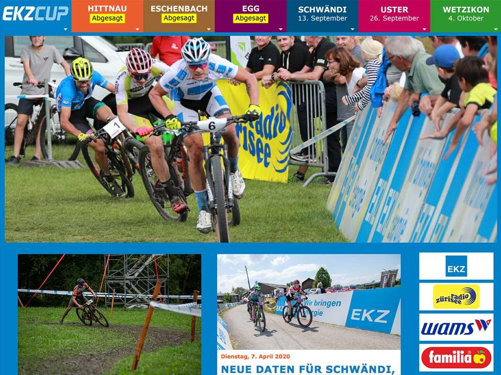 Website EKZ Cup 2020