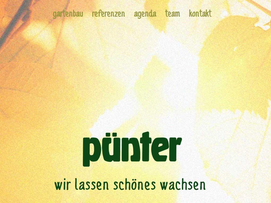 Puenter Garten Website 2020